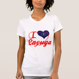 I Love Cayuga, Indiana Tee Shirt