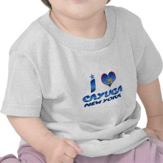 I love Cayuga, New York Tee Shirts
