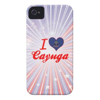 I Love Cayuga, North Dakota iPhone 4 Case-Mate Case