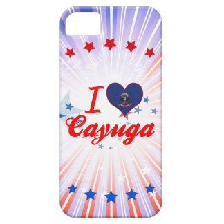 I Love Cayuga, North Dakota iPhone 5/5S Cases