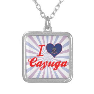 I Love Cayuga, North Dakota Necklace