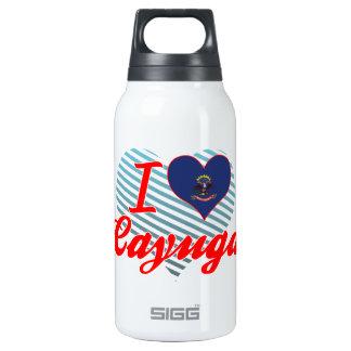 I Love Cayuga, North Dakota 10 Oz Insulated SIGG Thermos Water Bottle