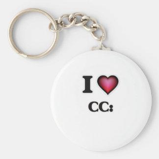 I love CC: Keychain