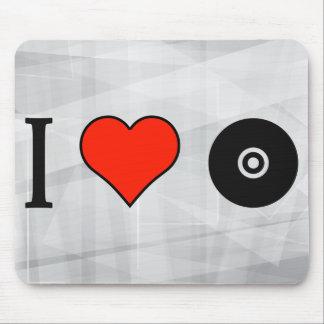 I Love Cd Mouse Pad
