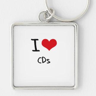 I love CDs Keychain