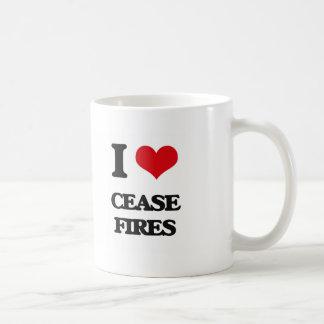 I love Cease-Fires Coffee Mugs