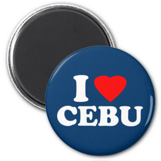 I Love Cebu Magnet