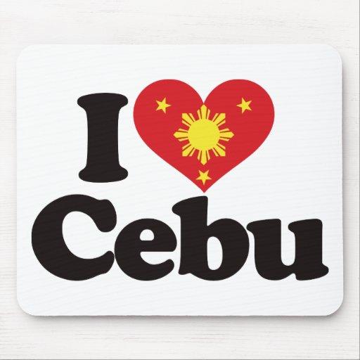I Love Cebu Mousepad
