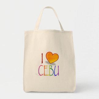 """""""I Love Cebu"""" Reusable Grocery Bag"""