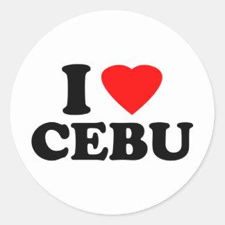 I Love Cebu Sticker