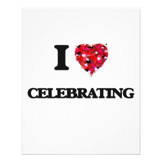 "I love Celebrating 4.5"" X 5.6"" Flyer"