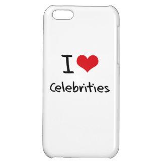 I love Celebrities iPhone 5C Cases