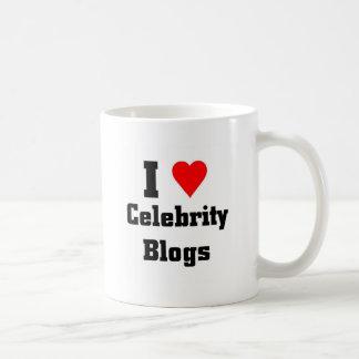 I love Celebrity Blogs Coffee Mug
