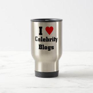 I love Celebrity Blogs Travel Mug
