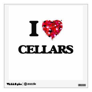 I love Cellars Wall Skins