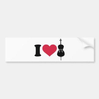 I love Cello Bumper Stickers