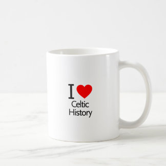 I Love Celtic History Coffee Mug