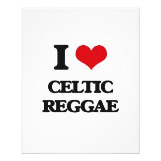 I Love CELTIC REGGAE Flyer