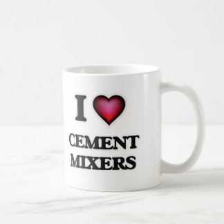 I love Cement Mixers Coffee Mug
