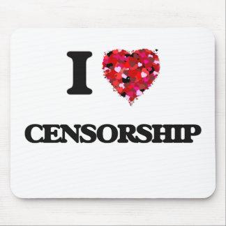 I love Censorship Mouse Pad