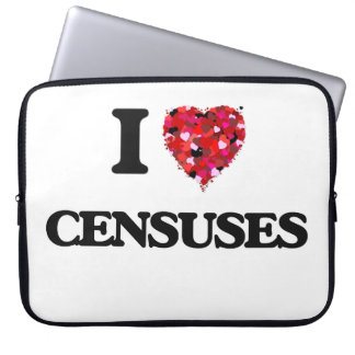 I love Censuses Computer Sleeve