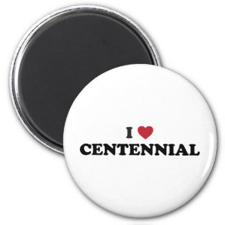 I Love Centennial Colorado Magnet