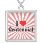 I Love Centennial, United States Custom Necklace