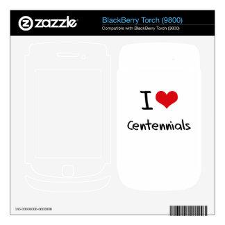 I love Centennials BlackBerry Decals