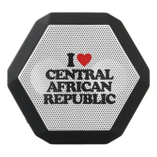 I LOVE CENTRAL AFRICAN REPUBLIC BLACK BOOMBOT REX BLUETOOTH SPEAKER