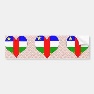 I Love Central African Republic Bumper Stickers