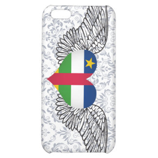 I Love Central African Republic -wings iPhone 5C Case