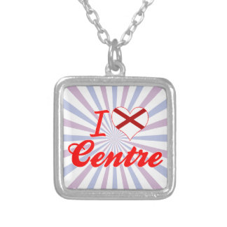 I Love Centre, Alabama Custom Necklace