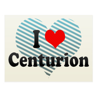 I Love Centurion, South Africa Postcard