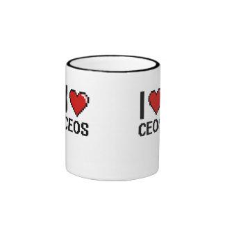 I love Ceos Ringer Coffee Mug