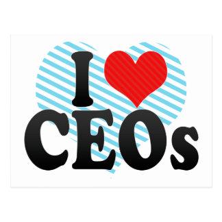 I Love CEOS Postcard