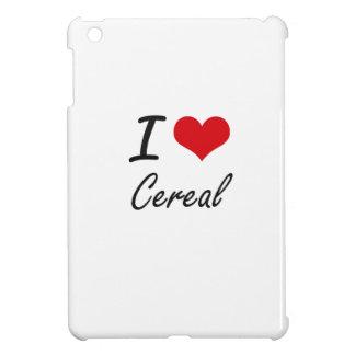 I love Cereal Artistic Design Cover For The iPad Mini