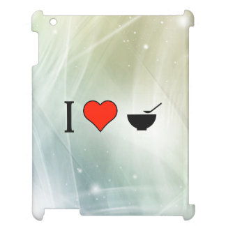 I Love Cereal Bowls iPad Cover
