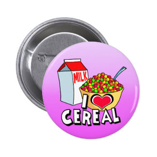 I LOVE CEREAL BUTTON