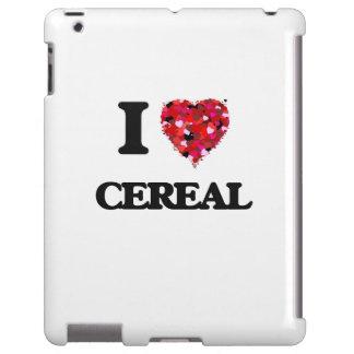 I Love Cereal food design