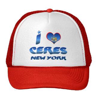 I love Ceres, New York Trucker Hat