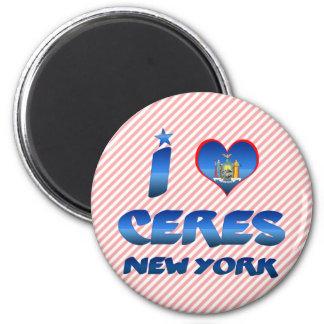 I love Ceres, New York Fridge Magnet