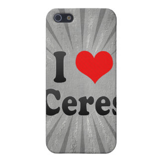 I Love Ceres, United States Covers For iPhone 5