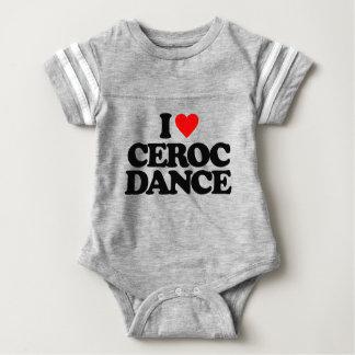 I LOVE CEROC DANCE BABY BODYSUIT