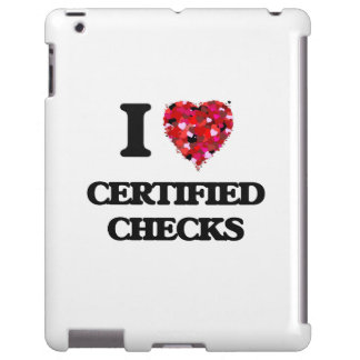 I love Certified Checks