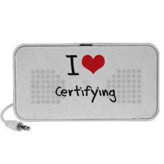 I love Certifying Travelling Speakers