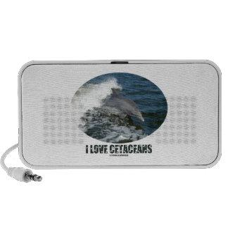 I Love Cetaceans (Bottlenose Dolphin Breaching) Speaker