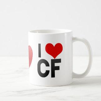 I Love CF Mug