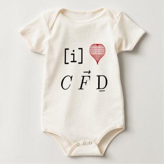 I love CFD Baby Bodysuit