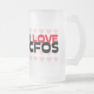 I LOVE CFOS MUG