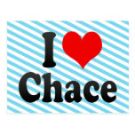 I love Chace Postcard